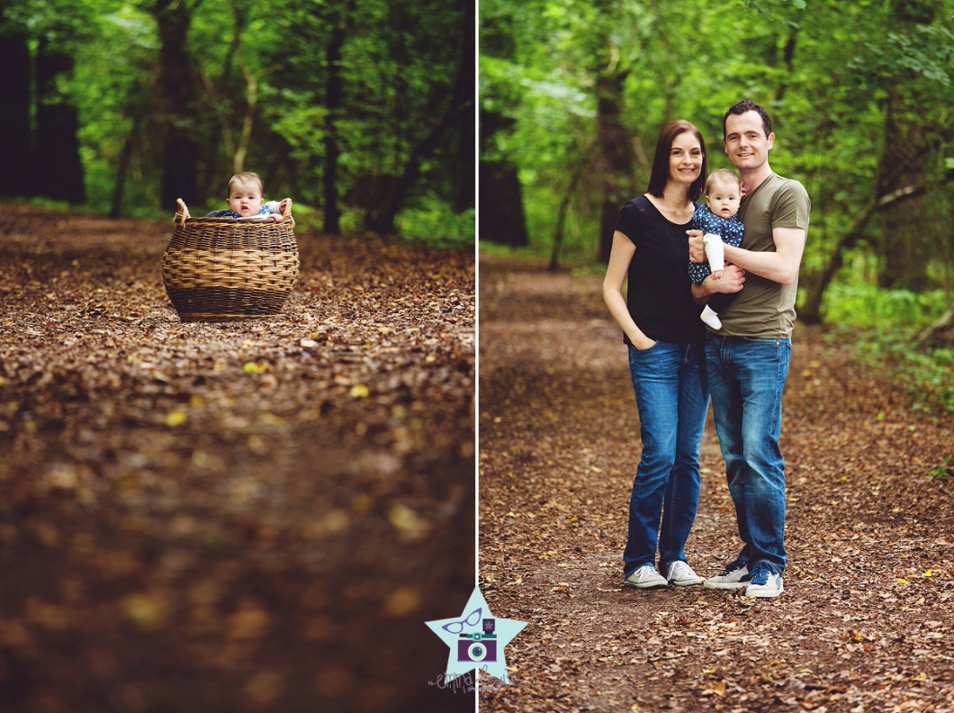 A Walk In The Woods Baby Photography Oxted Emma Louise