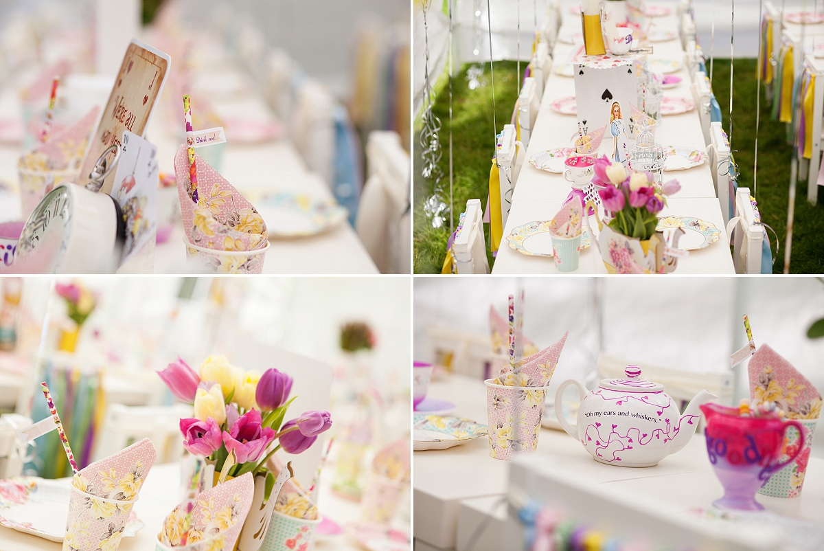 Alice in Wonderland - Kids Party Photography London - Emma Louise Photo