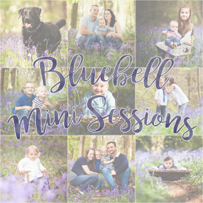 Emma Louise Photography Bluebell Mini Sessions