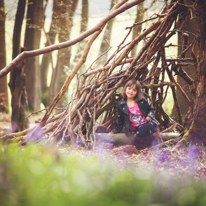 Family Portraits in the Bluebell Woods by Emma Louise Photography